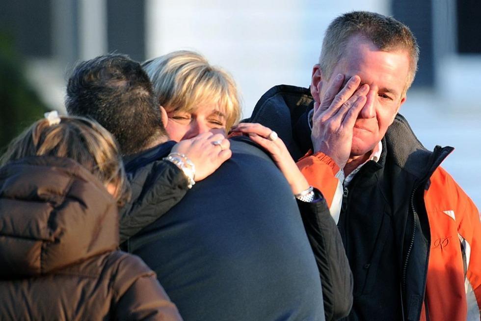 Estados Unidos: un tirador atacó una escuela en hora de clases y asesinó a 28 personas. Foto: AFP