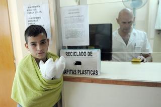 Sólo 12 personas fueron atendidas por pirotecnia en el Hospital de Quemados porteño