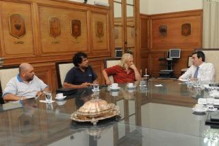 Randazzo se reunió con delegados de la línea Sarmiento