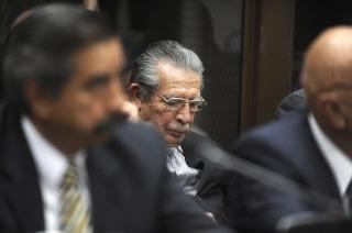 Se conocerá hoy la sentencia en el juicio contra el dictador guatemalteco Efraín Ríos Montt