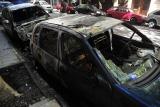 Dos autos aparecieron quemados en el barrio porteño de Recoleta