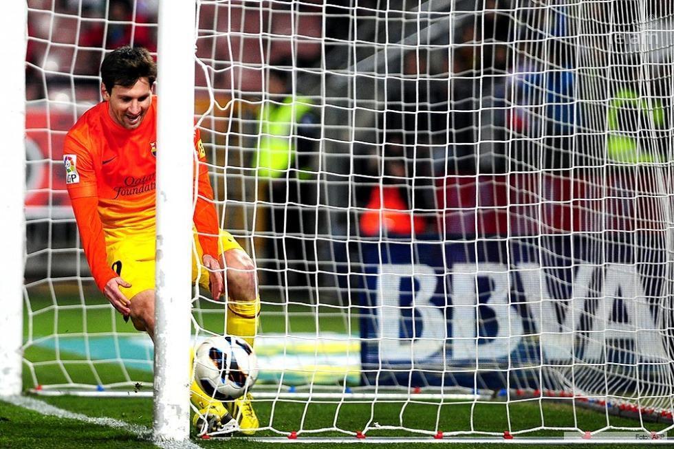 Messi marcó su gol 301 en el Barcelona.