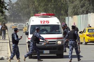 Ocho muertos y 15 heridos por un atentado en un mercado de Bagdad