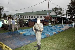 Secuestraron casi seis toneladas de marihuana simuladas en jabón en polvo en Corrientes