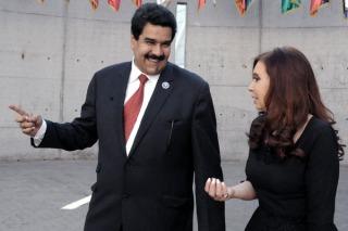 Cristina mantendrá un encuentro con Maduro en Casa de Gobierno