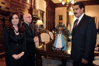 La Presidenta y Maduro destacaron los acuerdos económicos bilaterales