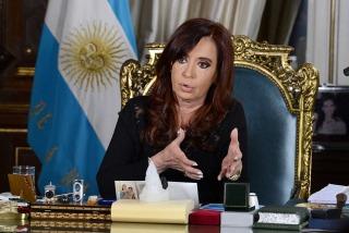 Cristina anunció que enviará ayuda al Hospital Español de La Plata