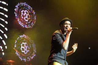 Abel Pintos dio  el primero de los cincos conciertos en el Luna Park