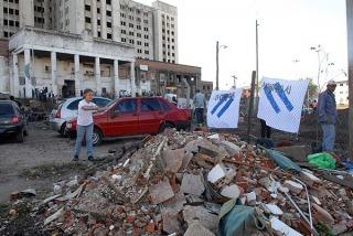 Militantes realizaron tareas solidarias en la zona de Ciudad Oculta