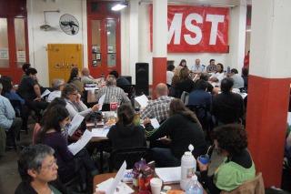 Con fuertes críticas a Carrió y Solanas, el MST se distanció del Movimiento Proyecto Sur
