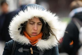 Temperaturas bajo cero en gran parte del país por la ola de aire antártico