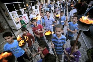 Miles de palestinos conmemoraron el desmenbramiento de su territorio