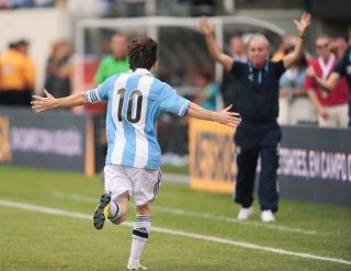 """Sabella es """"optimista"""" para contar con Messi en las Eliminatorias 2014"""