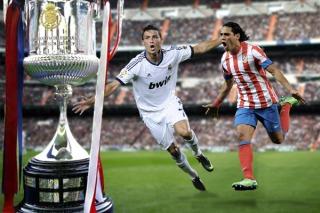 El Real le gana al Atlético la final de la Copa del Rey con gol de Ronaldo