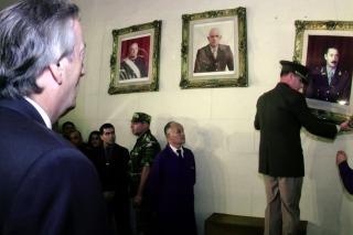 El 24 de marzo de 2004, el día que Néstor Kirchner hizo bajar el cuadro