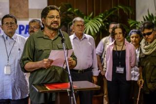 """Las FARC anunciaron """"una pausa"""" en las negociaciones con el gobierno para analizar el referendo"""