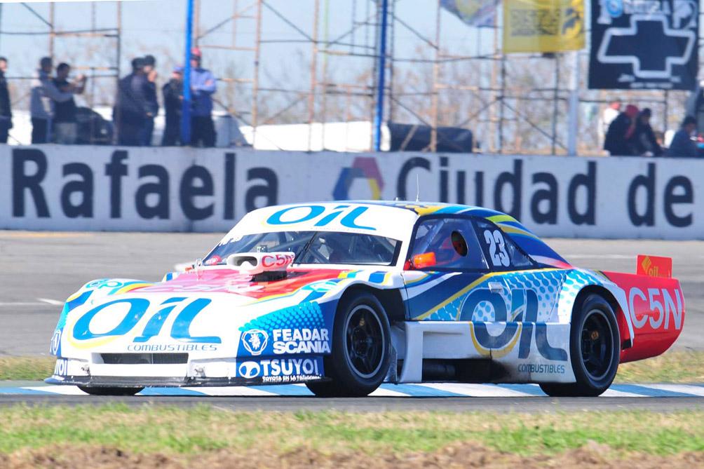 Juan Manuel Silva hizo la pole en Rafaela