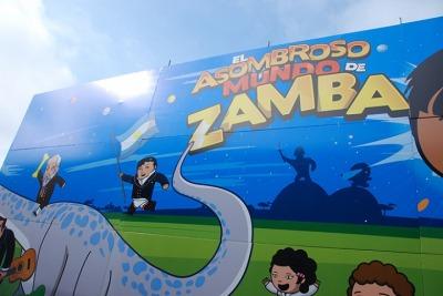 Las aventuras de san mart n en clave musical t lam for El asombroso espectaculo zamba