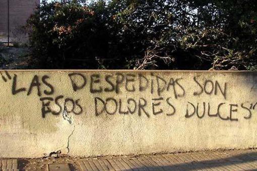 10 frases de Los Redondos hechas grafitis