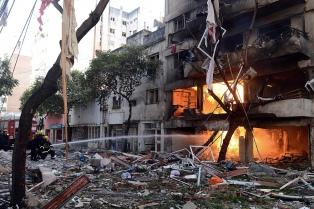 La fiscal pide 5 años de prisión efectiva para los acusados de la explosión del edificio en Rosario