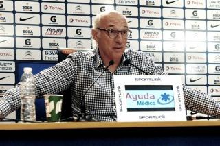 """Bianchi reconoció que """"Gago todavía no está para jugar"""" en el torneo"""