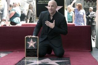 Vin Diesel ya tiene su estrella en el Paseo de la Fama de Hollywood