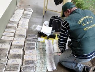 En los primeros seis meses del año se incineraron cerca de 15 toneladas de cocaína y 32 de marihuana