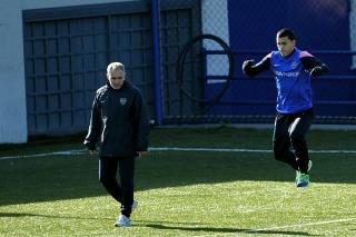 Leandro Paredes vuelve a trotar tras la lesión que le provocó Orión