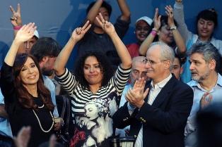El binomio Cristina-Taiana suma el apoyo de sectores izquierda para las legislativas
