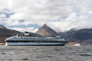 Con el arribo del buque Stella Australis inicia la temporada de cruceros en Ushuaia