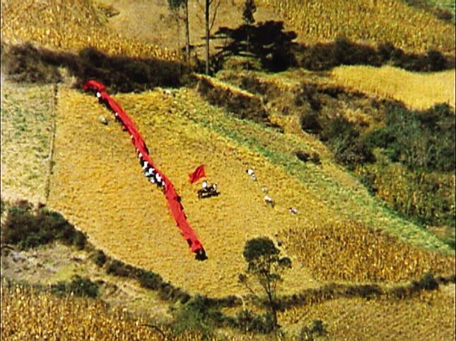 Bandera roja en el campo-Bolivia-para El día que me quieras.