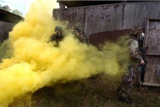 Rusia denunció que la oposición tiene armas químicas