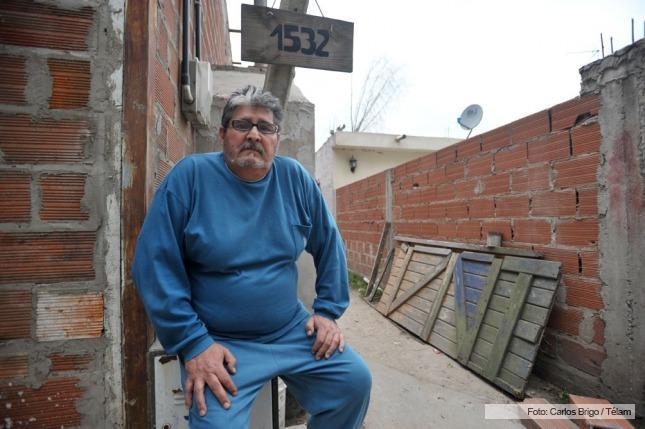 """El Toba García en su casa de Ezeiza, dice que lo del 20 de diciembre fue un """"crimen de lesa humanidad"""""""