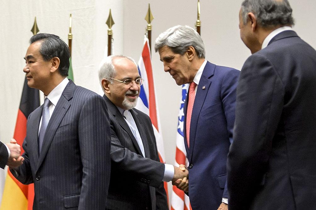 John Kerry y Yavad Zarif: acuerdo nuclear entre Irán y Estados Unidos durante la administración de Barack Obama