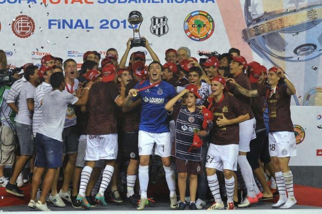 Lanús se consagró campeón de la Sudamericana