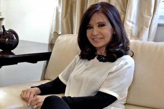 Cristina se recupera en Olivos de su fractura de tobillo
