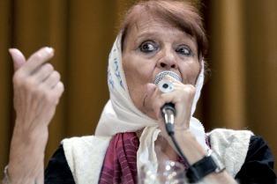 """Taty Almeida: """"Ni reconciliación, ni perdón, justicia legal"""""""