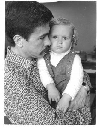 """Padre e hijo en la redacción de """"Panorama"""""""