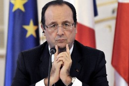 Francia: Francois Hollande admitió el fracaso en bajar el desempleo