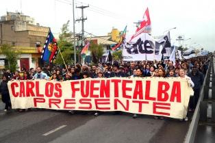Marcha y actividades al cumplirse 11 años del asesinato de Carlos Fuentealba