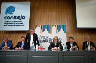 Empresarios exhortaron a las fuerzas políticas a lograr acuerdos y fortalecer las instituciones