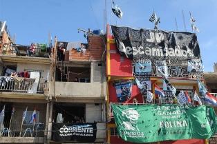 Protesta contra el proyecto de reurbanización de la Villa 31