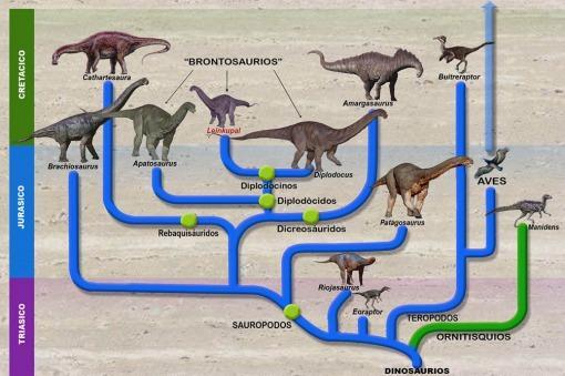Hallan un brontosaurio en Argentina, único en sudamérica y el último viviente