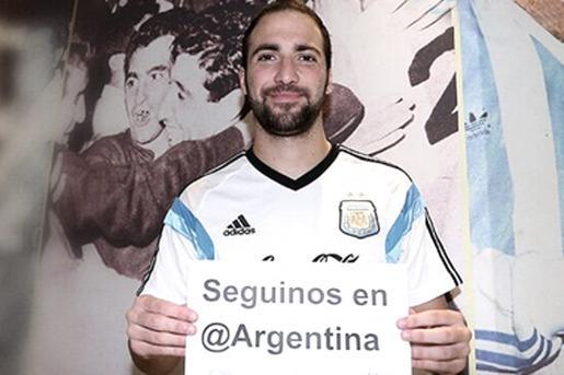 Presentaron @argentina, la cuenta oficial de la selección