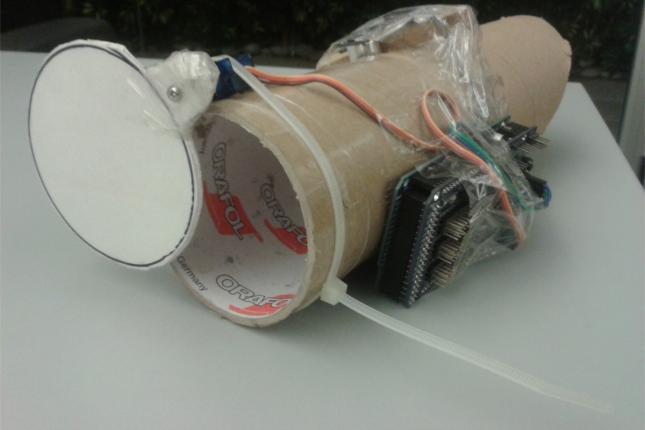 """Primer prototipo de """"Tacho Piola"""""""