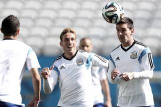 Argentina comienza a delinear la formación para enfrentar a Holanda