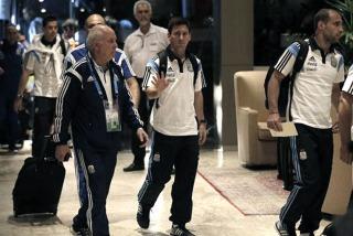 Argentina viaja a San Pablo, donde mañana juega con Holanda