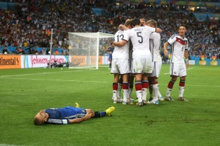 Brasil 2014: Alemania esfumó la esperanza de gloria de Argentina