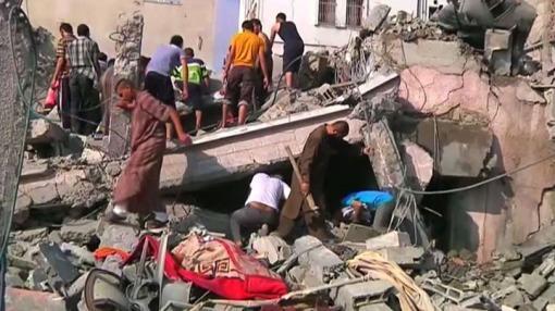 Gaza: 31 palestinos murieron y decenas resultaron heridos