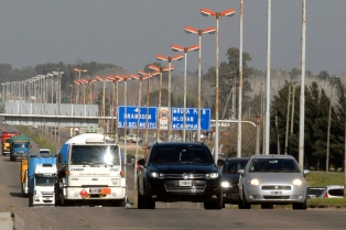 Se intensifica el tránsito en rutas de la Costa atlántica por regreso de turistas